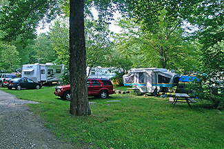Campsites at Stateline Campresort & Cabins