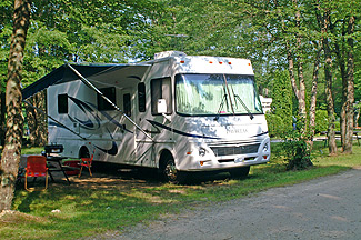 Campsite at Stateline Campresort & Cabins
