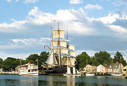 Mystic Seaport is easy to reach from Stateline Campresort & Cabins